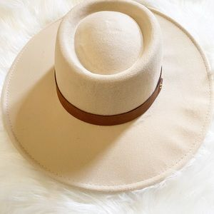 NWT**JUST IN Boho Rancher/Boater/Panama Hat